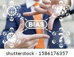 Small photo of Bias Prejudice Discrimination Diversity Business Politics Employee Rights Concept.