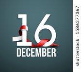illustration festive banner... | Shutterstock .eps vector #1586277367