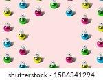pattern texture abstract made... | Shutterstock . vector #1586341294