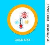 cloudy cold icon   from... | Shutterstock .eps vector #1586438227