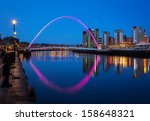 The Gateshead Millennium Bridg...