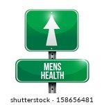 mens health road sign...   Shutterstock . vector #158656481