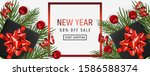 holiday background happy new... | Shutterstock .eps vector #1586588374