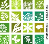 natural icons | Shutterstock .eps vector #158665451