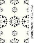 seamless pattern in retro style | Shutterstock . vector #158674361