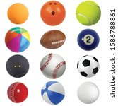 a collection of different type... | Shutterstock . vector #1586788861