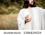 The Jesus Christ Giving Out The ...