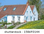 traditional fisherman s house... | Shutterstock . vector #158693144