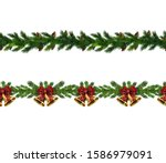 christmas elements for your... | Shutterstock .eps vector #1586979091