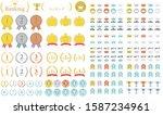 vector assortment of ranking... | Shutterstock .eps vector #1587234961