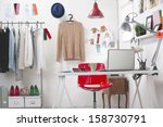 Room Of A Fashion Blogger.  A...