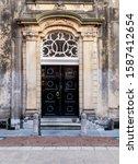 Wooden Double Entrance Door To...