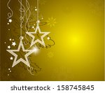 christmas background. abstract... | Shutterstock .eps vector #158745845