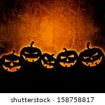 Stock photo halloween background for your design 158758817