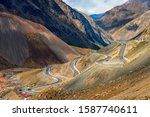 """From Dushanzi to Kuqa, Duku road was selected as """"landscape Avenue running through the backbone of Tianshan Mountain"""" by National Geographic of China."""