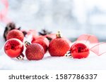 Christmas Of  Winter   Red...