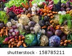 Selection Of Vegetables From A...