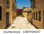 Jerusalem Old City Empty Street ...