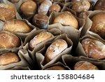 Fresh Baked Breads In Market...