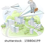 line business | Shutterstock .eps vector #158806199