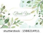 colorful floral background with ...   Shutterstock .eps vector #1588214911
