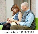 mother breast feeding newborn... | Shutterstock . vector #158822024