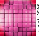 3d cubes as nice background in... | Shutterstock . vector #158832641