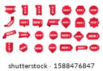 stickers for new arrival shop... | Shutterstock .eps vector #1588476847