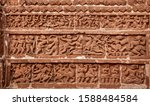Relief Work In The Wall Of A...