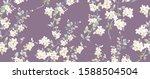 computer drawn beautiful...   Shutterstock . vector #1588504504