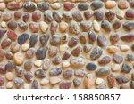texture of the stone floor for... | Shutterstock . vector #158850857