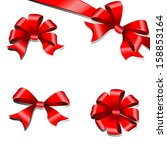 bows design | Shutterstock . vector #158853164