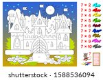 multiplication table by 7 for... | Shutterstock .eps vector #1588536094