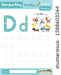 Letter D Uppercase And...