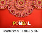 greeting background with... | Shutterstock .eps vector #1588672687