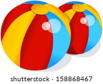 vector illustration of two... | Shutterstock .eps vector #158868467