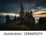 Castle Sinclair Girnigoe Cliffs ...