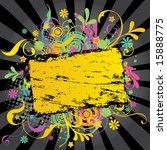 funky banner 3 | Shutterstock .eps vector #15888775
