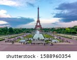 Eiffel Tower And Trocadero...