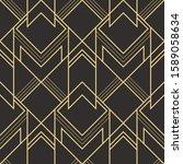 vector modern geometric tiles... | Shutterstock .eps vector #1589058634