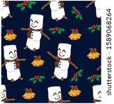 vector illustration  christmas... | Shutterstock .eps vector #1589068264