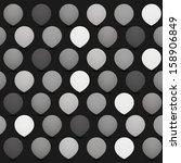 Circles with Drop Shadows - stock photo