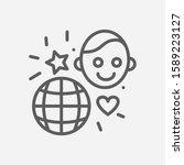 international children day icon ...