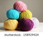 Multicolored Clews Closeup