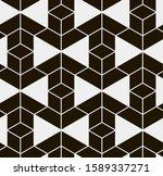 seamless vector pattern.... | Shutterstock .eps vector #1589337271