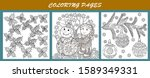 coloring pages. coloring book... | Shutterstock .eps vector #1589349331