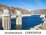 Hoover Dam And Colorado River...