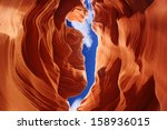 Antelope Canyon  Arizona  Usa...