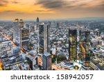Cityscape Of Frankfurt  German...