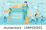 profitable product startup and...   Shutterstock .eps vector #1589434501